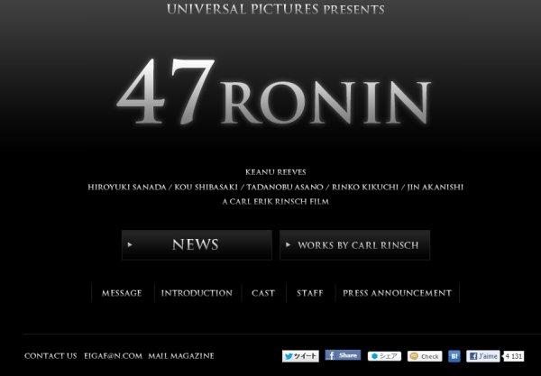 47 Ronin site officiel + prénom de baby Jin????