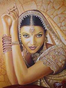 une superbe Indienne