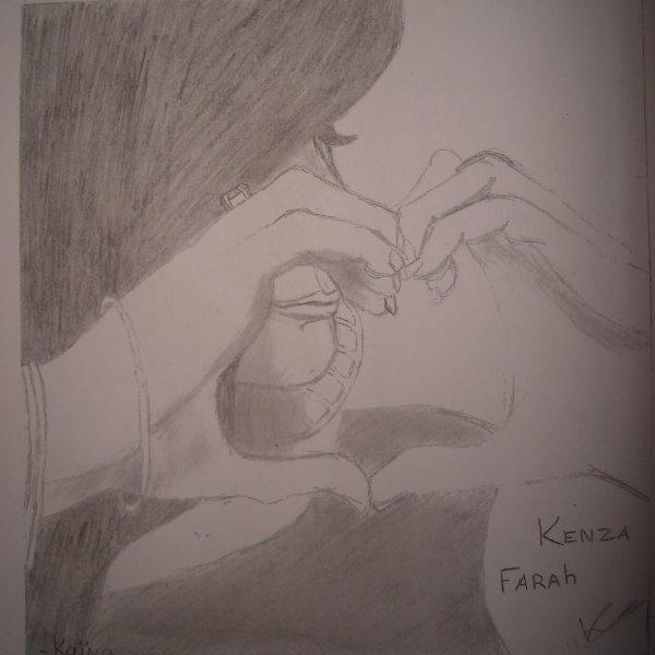 DESSIN DE KENZA FARAH (l)