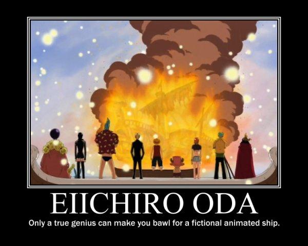 EIICHIRO ODA ( auteur de one piece)