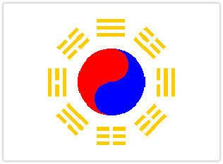 Le drapeau Coréen !!