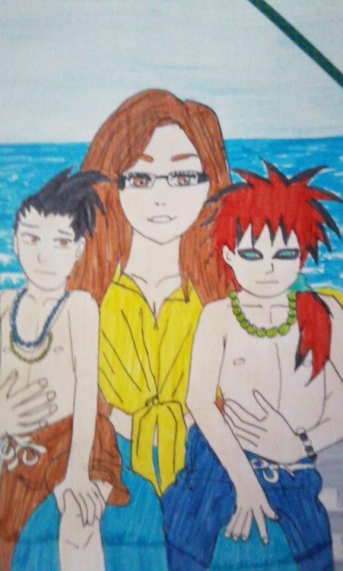 shikamaru, moi et gaara