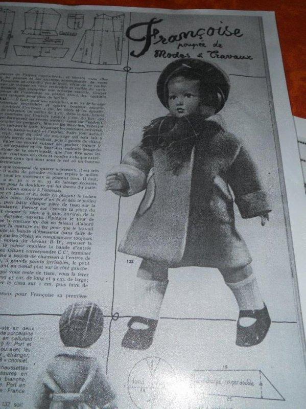 1952 mars / chapeau et écharpe
