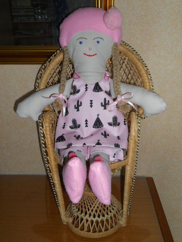 poupée chiffon doudoune