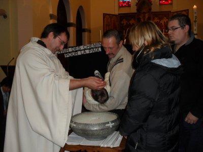 souvenir baptème Jordan et Dylan le 5 décembre