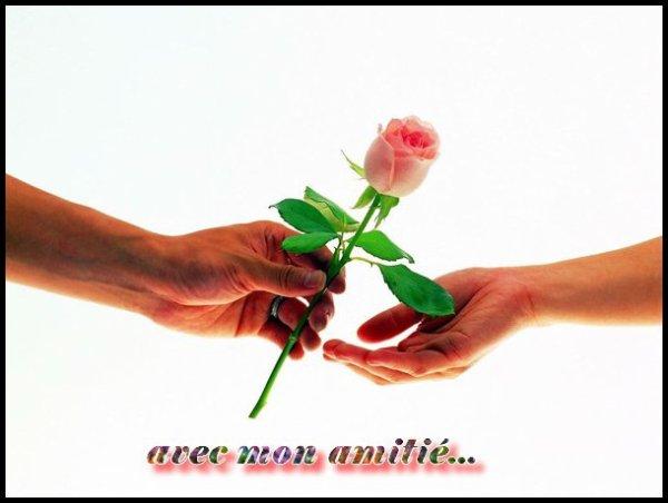 à toi mon ami(e)