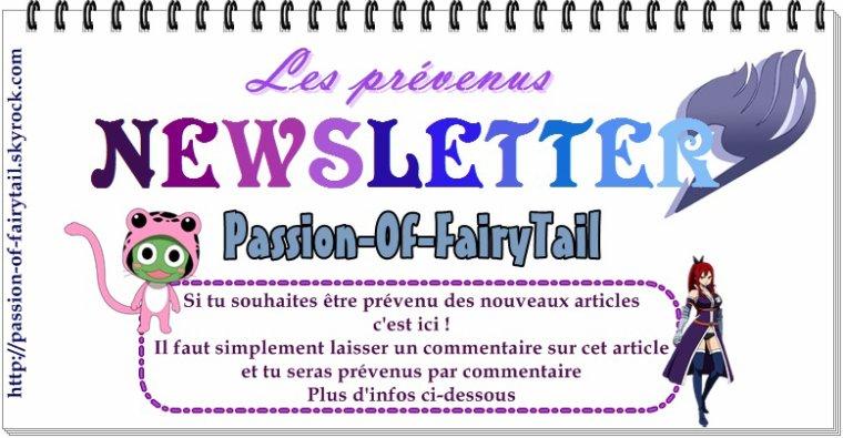 Newsletter & espace : je suis fan