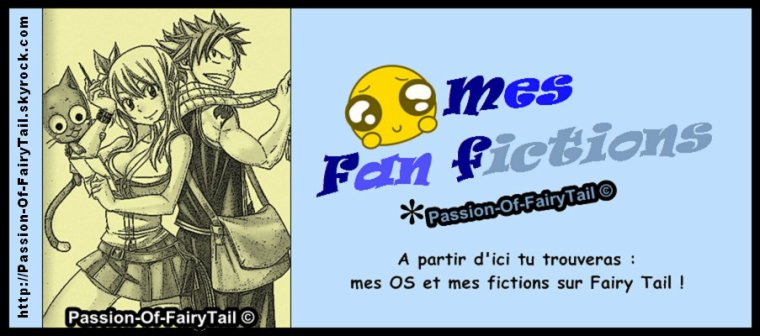 Partie : Fan Fictions (OS et fictions)