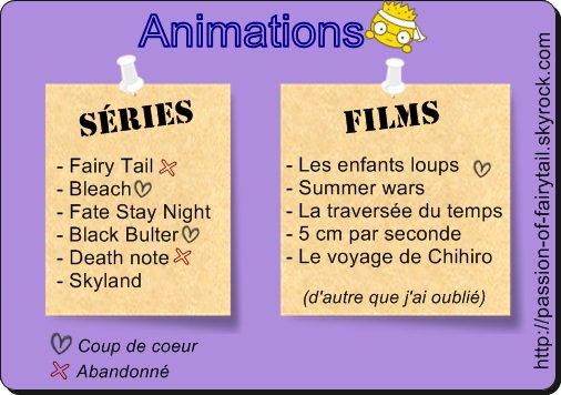 Hors-Série #4 : Mangas, Anime, Livres, Films, séries