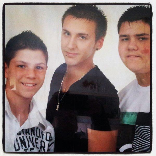 mes 3 fils