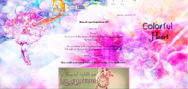 Habillage n°45 [Libre-service - Spécial 2 000 visites ♥]