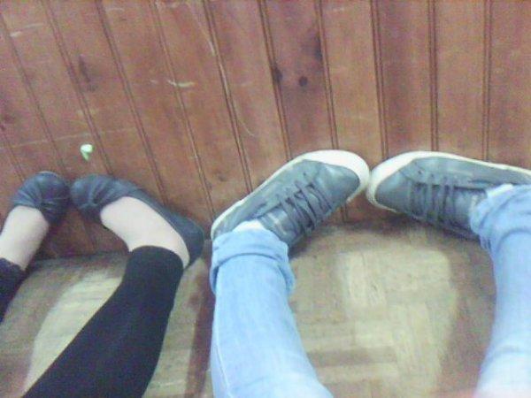 nos pied :$