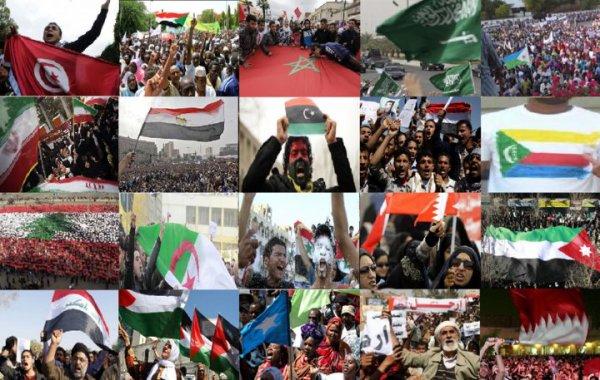 """""""Je suis née en Tunisie, j'ai vécu en Égypte, J'ai sacrifiée mon sang en Libye, je me suis battue au Yémen en passant par le Bahreïn... Je grandirai dans Le Monde Arabe ... jusqu'à ce que j'arrive en Palestine InchAllah !"""""""