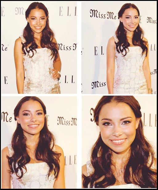 """Appareances 9 Aout 2012 : Jessica sur le tapis rouge lors de """"Elle and Miss me Album realease party"""""""