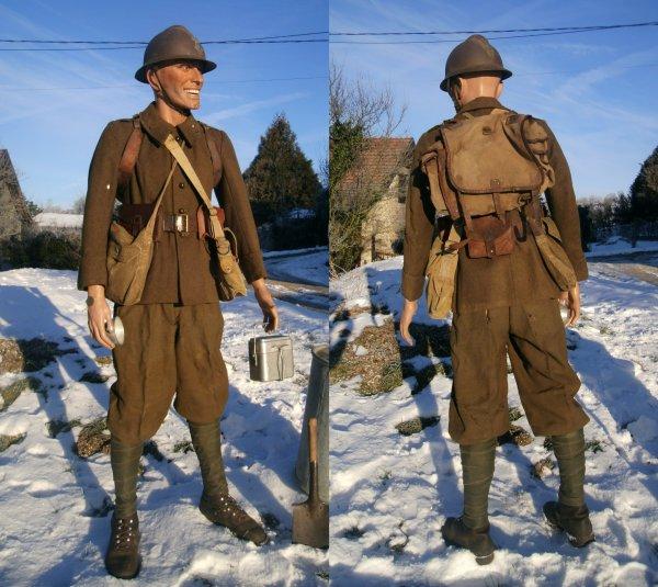 Mon soldat Français hiver 1939