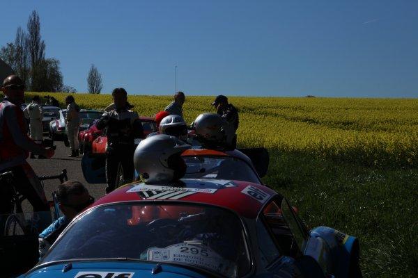 25ème Tour Auto : LAJOURNADE et la Type E !
