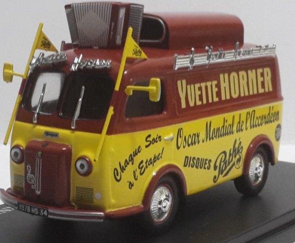 Yvette Horner repose à Tarbes