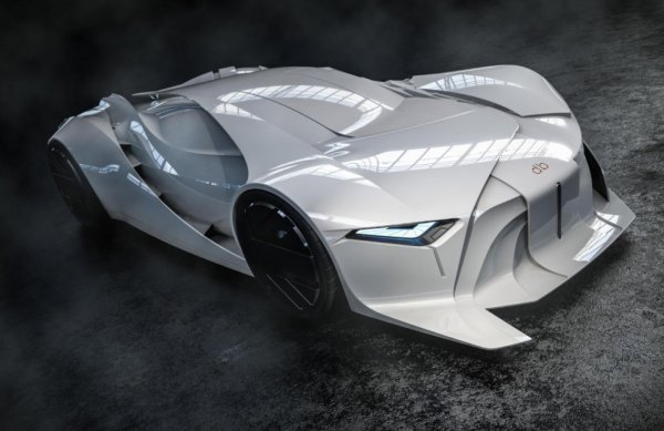 Festival auto international : un concept car inédit à la #FashionWeek du #Design