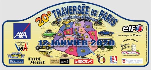 20 ans pour la Traversée de Paris en 2020 !