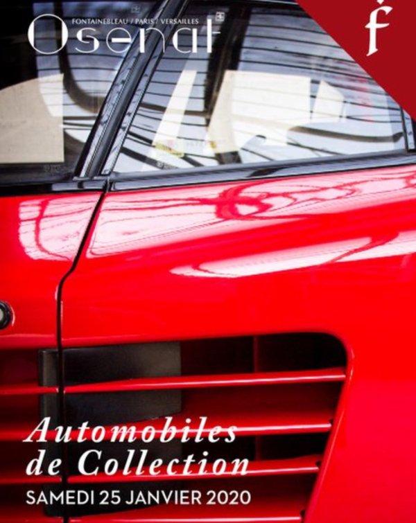 Encheres auto avant Retromobile des ke 25/janvier