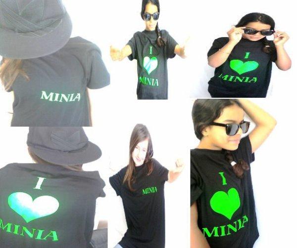 T-shirt Minia Vert