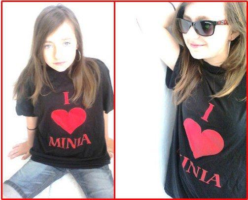 T-shirt Minia Rouge