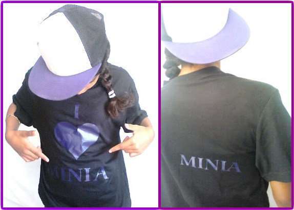 T-shirt Minia Violet