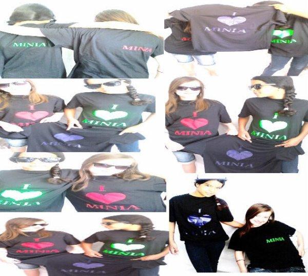 T-shirt Minia à 8 Euro