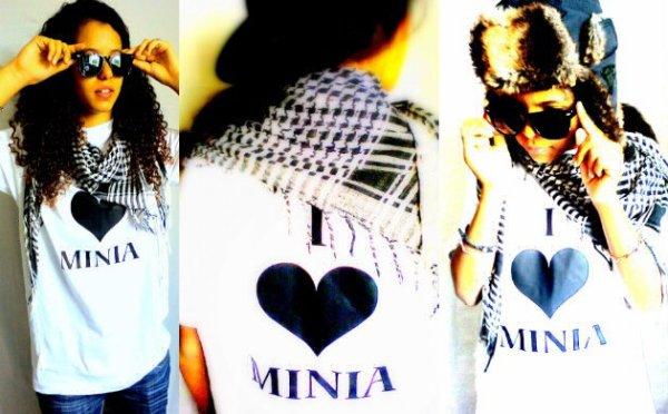 T-shirt Minia Blanc & Noir