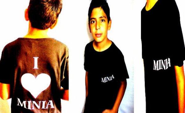 T-shirt Minia Noir & Blanc