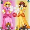 peach et daisy