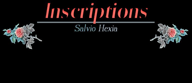 Règlement & Inscription