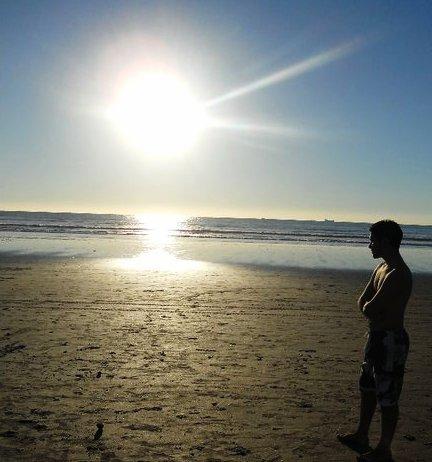 que moi et la plage en pensant a quoi ?