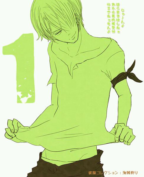 Sanji's cosplay