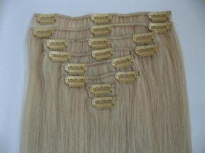Clip extensions de cheveux, 100% cheveux humains