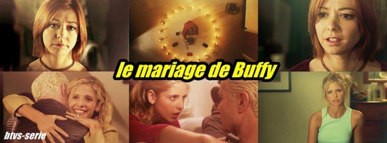 saison 4- le mariage de Buffy