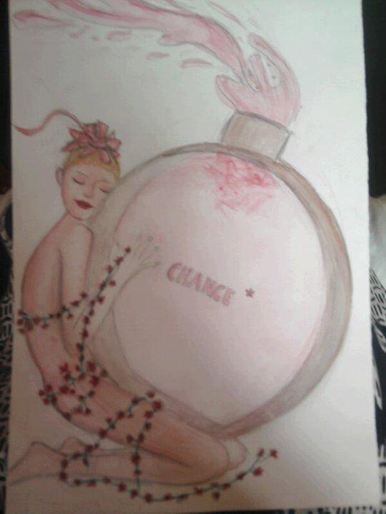 pub chanel  (aquarel)