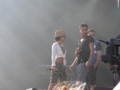 Inna - Live Rennes 29 juin 2011 - Les 10 ans d'Hit West Ps: J'y était