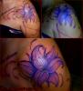 Fleur + arabesque (work in progress)