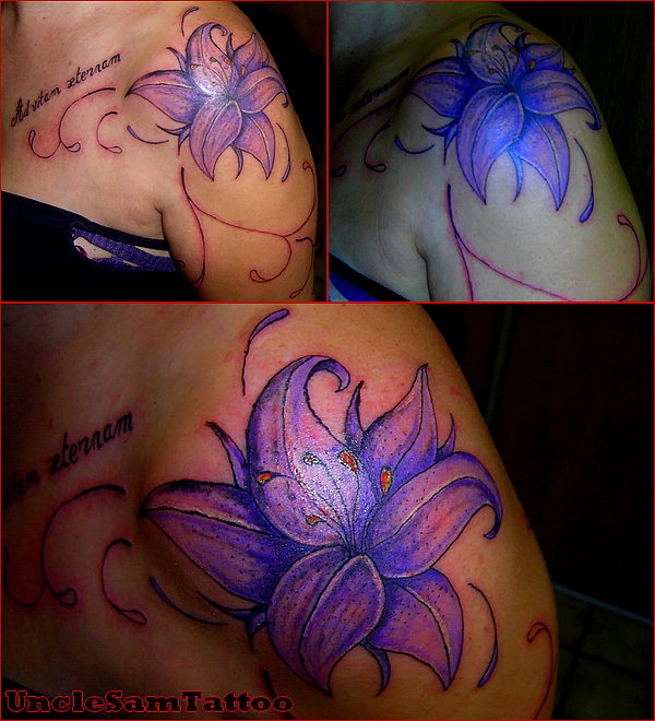 Fleur + arabesque (work in progress)