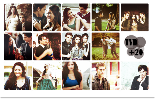 Planche avatars ; THE VAMPIRE DIARIES ♥