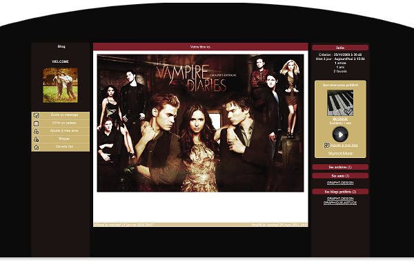 9eme design ; The Vampire Diaries  ♥