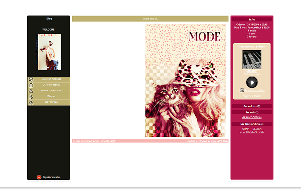 10eme design ; Mode ★❖