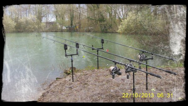 3 jours sur VAUMIGNY LAKES...