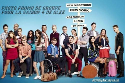 Nouvelle photo promo pour la saison 4 de Glee vient d'apparaître sur la toile