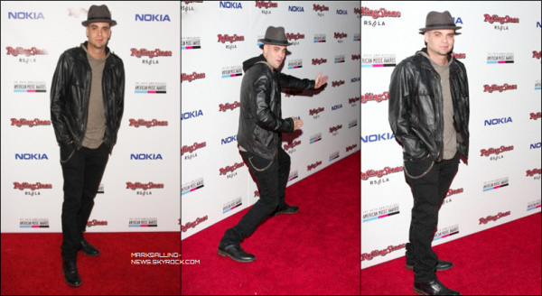 18/11/12 Mark était présent au The American Music Awards