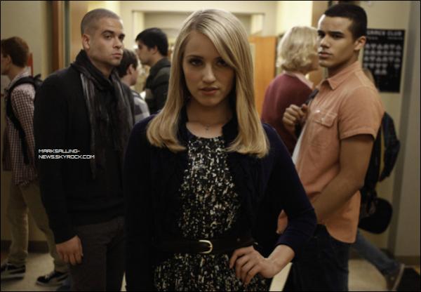 Encore d'autres photos du set de Glee en compagnie de Jake, Quinn et les autres anciens