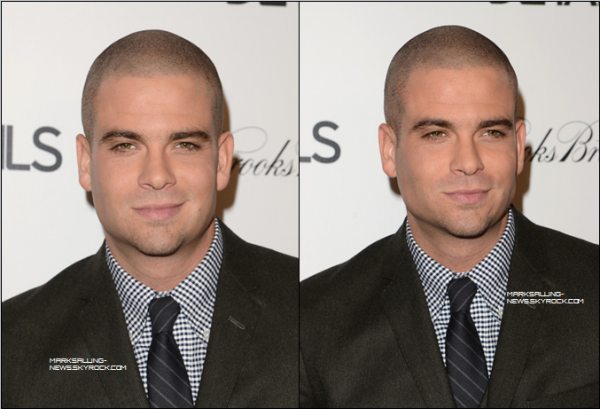 "29/11/12 Mark était présent au ""the DETAILS Hollywood Mavericks Party held at Soho House"" à West Hollywood en Californie"