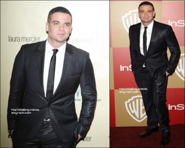 13/01/13 Mark était aux Instyle Golden Globes Party 2013 après les Golden Globes 2013