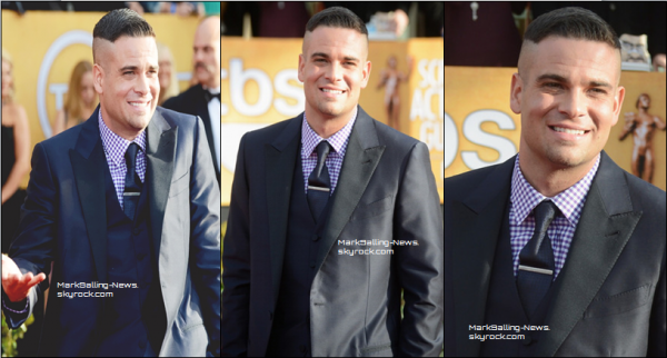27/01/13 Mark était présent aux SAG Awards, en costume et tout beau ! Un Mark tout souriant et confiant, il a été interviewé au sujet de son accusation, interview reportée juste en dessous.            TOP OU FLOP ?